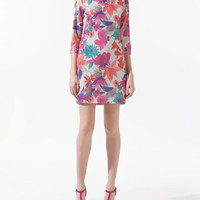 SEQUINNED TUNIC DRESS