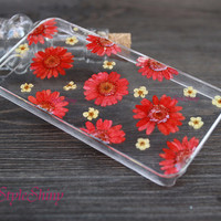 iPhone 6 case, Real pressed flowers Phone case, iPhone 6 Plus, iPhone 5S case, iPhone 5c case, samsung s5 case, Note3 case, Phone case-F27