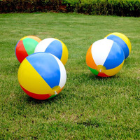 Inflatable 23cm Ball Balloons Swimming Pool Play Party Water Game Balloons Beach Sport Ball  Kids Fun Toys