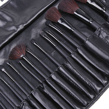 18pcs Professional Makeup Brush Set Make Up Brushes Beauty Cosmetics Foundation Blending Eyeliner Blush