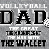 Volleyball DAD Wallet - Volleyball T-Shirt