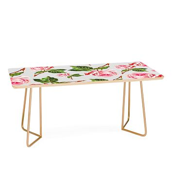Allyson Johnson Roses and stripes Coffee Table
