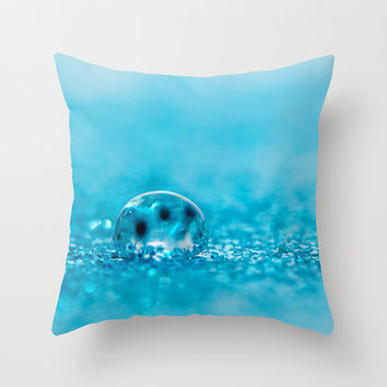 Turquoise Accent Pillows Large Pillow Covers Art Deco Home Decor Teen Pillow 16x16 18x18 20x20 Pillow Cover Throw Photo Cushions