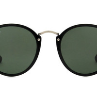 Try-on the Ray-Ban RB2447 at glasses.com