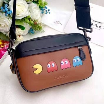 COACH 2019 new camera bag shoulder bag Messenger bag