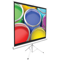 """Pyle Home Floor-standing Portable Tripod Manual Projector Screen (84"""")"""