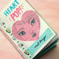 HEART POP! Zine Pack -32 pg, full colour Zine by Mel Stringer