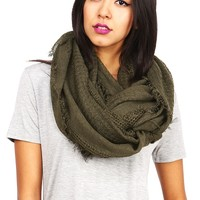 Trendy Knit Scarves, Infinity Scarves and Gloves | Pink Ice