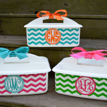 CHEVRON shower caddya must have for CAMP and DORMS by twosisters76