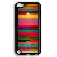 Colorful Wood Pattern iPod Touch 5 Case