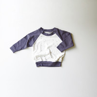 Zodiac Constellations Organic Babies and Kids Raglan - Size 12-18m