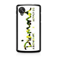 Diamond Supply Co Bathing Ape Yellow Nexus 5 case