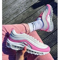 Nike Air Max 97 Air cushion bullet running shoes-1