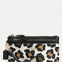 COACH ZIPPY WALLET WITH POP-UP POUCH IN OCELOT PRINT LEATHER   Dillards.com