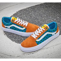 Trendsetter Vans x Golf Wang Old Skool Flats Sneakers Sport Shoes