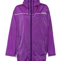 Ladies Oversize Purple Rain Jacket by Prada