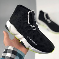 Balenciaga Speed Trainer BL couple style socks shoes