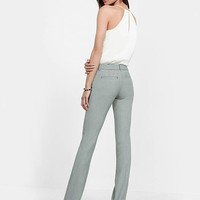 Micro Print Low Rise Barely Boot Columnist Pant from EXPRESS