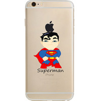 """Superman Jelly Clear Case for Apple iPhone 6/6s (4.7"""")"""
