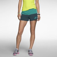Nike Modern Mix Women's Shorts - Turbo Green