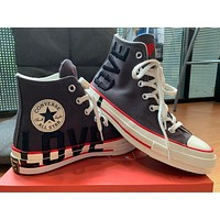 Converse Love Fearlessly Chuck 70 Hi high-top canvas skateboard shoes