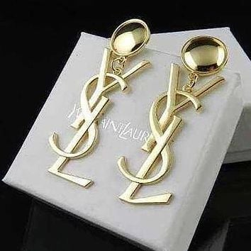 YSL Women Fashion Stud Earring Jewelry