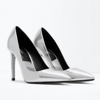 Winter Pointed Toe High Heel Shoes [4918351172]