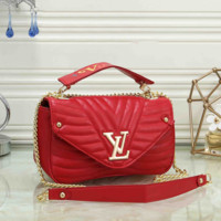 LV Women Fashion Leather Crossbody Handbag Shoulder Bag Satchel