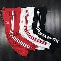 Adidas Classic Unisex Three Stripe Casual Sport Pants