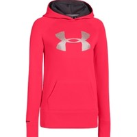 Under Armour Girls' Storm Armour Fleece Big Logo Hoodie | DICK'S Sporting Goods