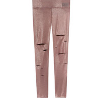 Utlimate Foil Slashed Legging - PINK - Victoria's Secret