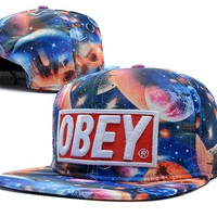 Perfect OBEY Snapback hats Women Men Embroidery Sports Sun Hat Baseball Cap Hat