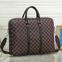 Alwayn LV luggage Bag Official package  Louis Vuitton Travel bag Coffee LV Print
