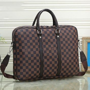 Onewel LV luggage Bag Official package  Louis Vuitton Travel bag Coffee LV Print