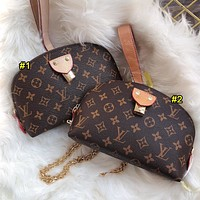 Louis Vuitton LV New Fashion Women's Printed Letter Cosmetic Bag Purse