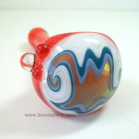 Glass Pipe, Heady Wig Wag Color Changing Pipe, Ed DuBick, Hand Blown Glass, READY to SHIP, Cgge Team, Boro Ballers