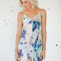 No Summertime Blues Dress | Aqua