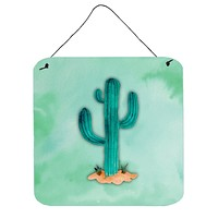 Western Cactus Watercolor Wall or Door Hanging Prints BB7369DS66