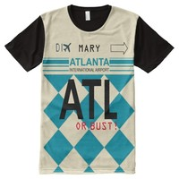 Hartsfield-Jackson Atlanta International Airport All-Over Print Shirt