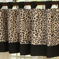 Animal Safari Animal Print Window Valance by Sweet Jojo Designs