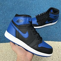 Air Jordan 1 OG Retro Royal Black