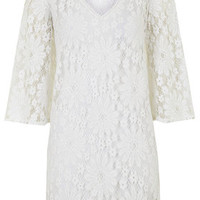 Lace Kaftan - Cream
