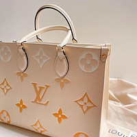 LV Louis Vuitton new printed letter shopping handbag shoulder bag messenger bag