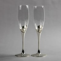 European classic love life away gift ideas wedding supplies heart-shaped couple glasses of low- XLX