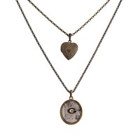 Georgia Necklace with Heart Shaped Locket
