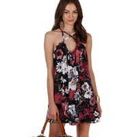 Back Road Floral Tunic