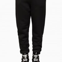 Track pant from F/W2015-16 T by Alexander Wang collection in black