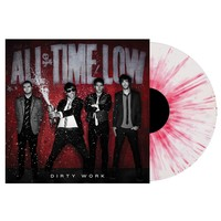 All Time Low's Dirty Work Colored Splattered Vinyl