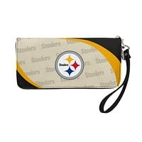 Pittsburgh Steelers Wallet Curve Organizer Style