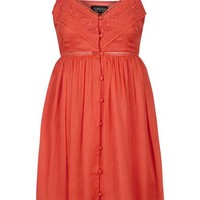 Button Down Sundress - Festival - Clothing
